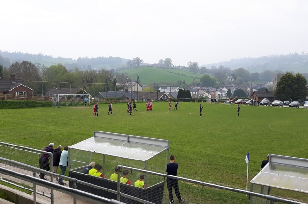 Llanfair Utd vs Holywell Town - 7th May (17)