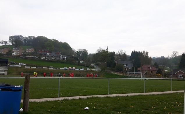 Llanfair Utd vs Holywell Town - 7th May (2)