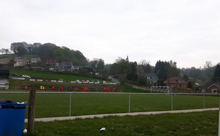 Llanfair Utd vs Holywell Town - 7th May (2)
