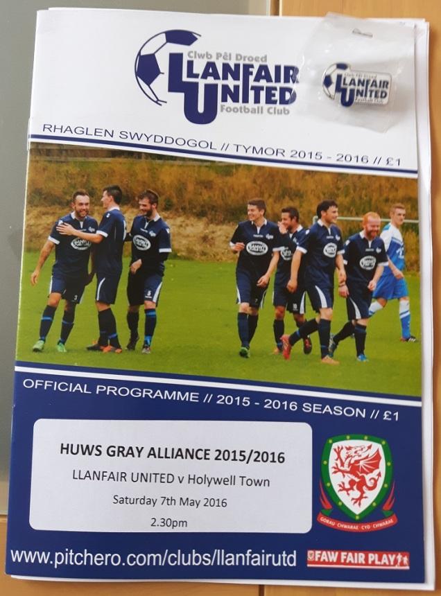 Llanfair Utd vs Holywell Town - 7th May (64)