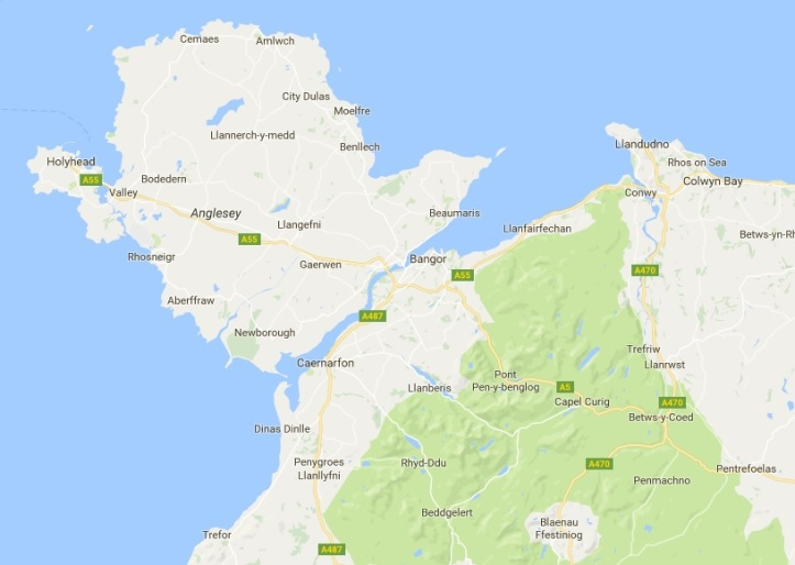 Anglesey Location