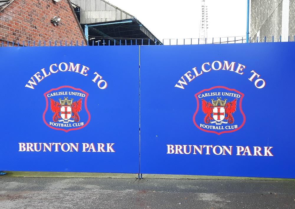 Brunton Park - 25th Sept 17