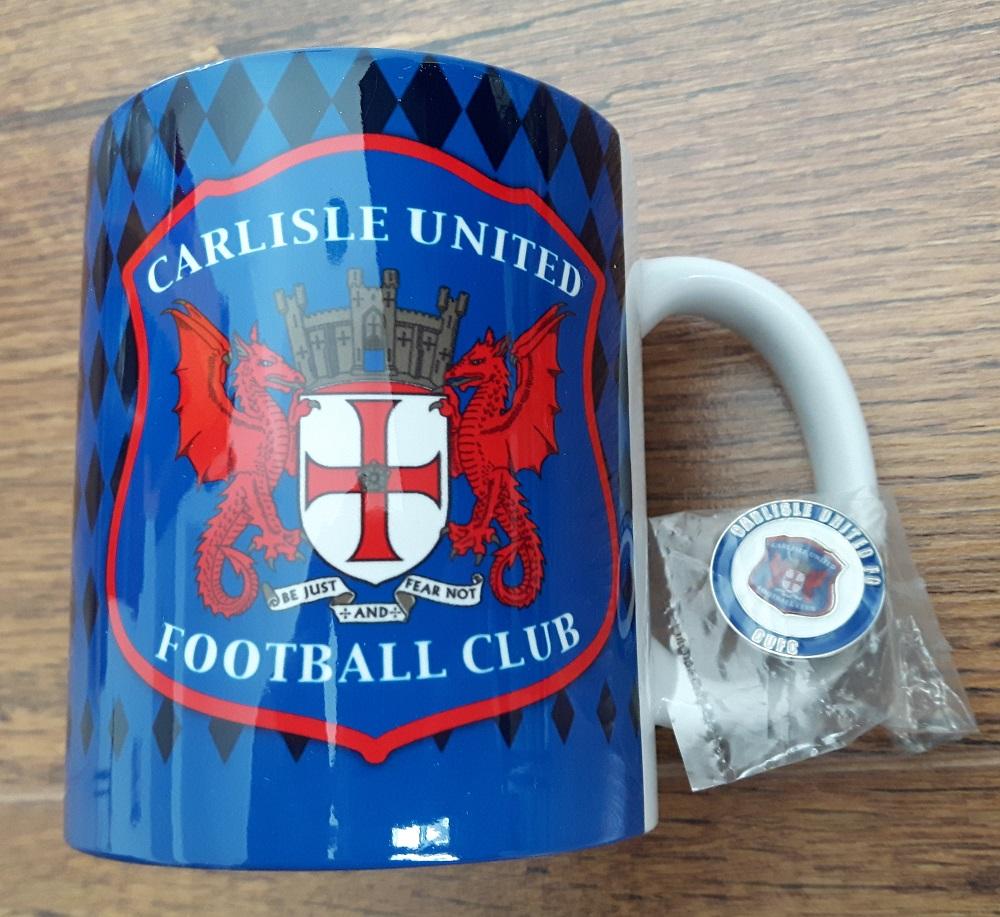 Carlisle Cup & Badge