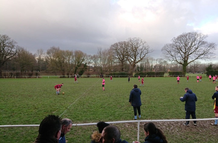 Rhosyllen vs Saltney Town - 6th Jan 2018 (11)