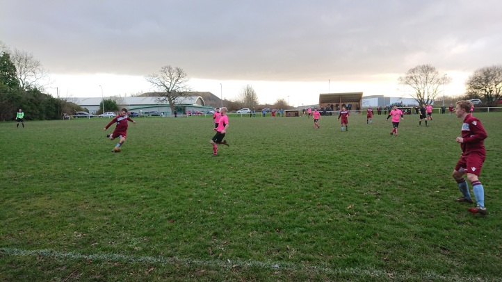 Rhosyllen vs Saltney Town - 6th Jan 2018 (21)