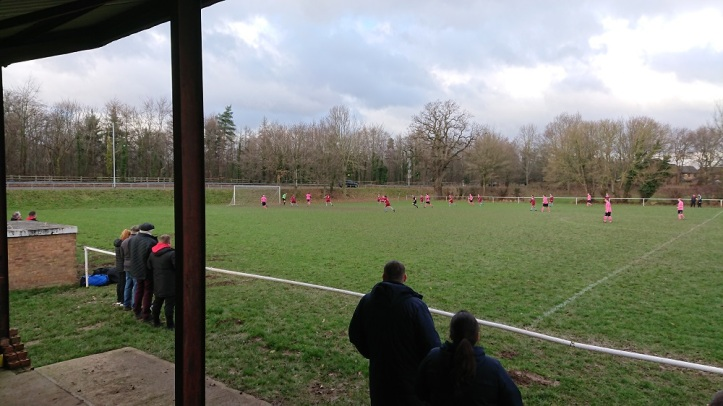 Rhosyllen vs Saltney Town - 6th Jan 2018 (6)
