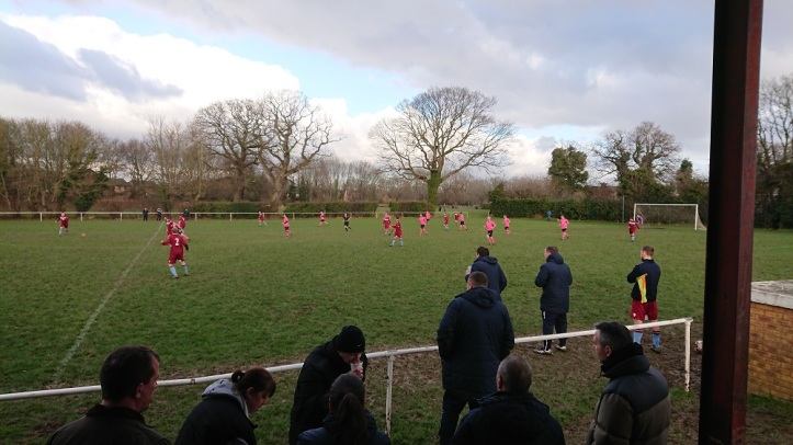 Rhosyllen vs Saltney Town - 6th Jan 2018 (7)