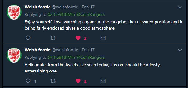 Confirmation of Game on Twitter