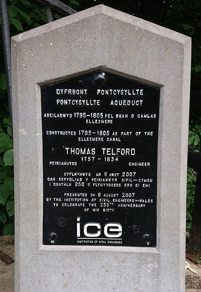 Maes Bont - Aqueduct Thomas Telford