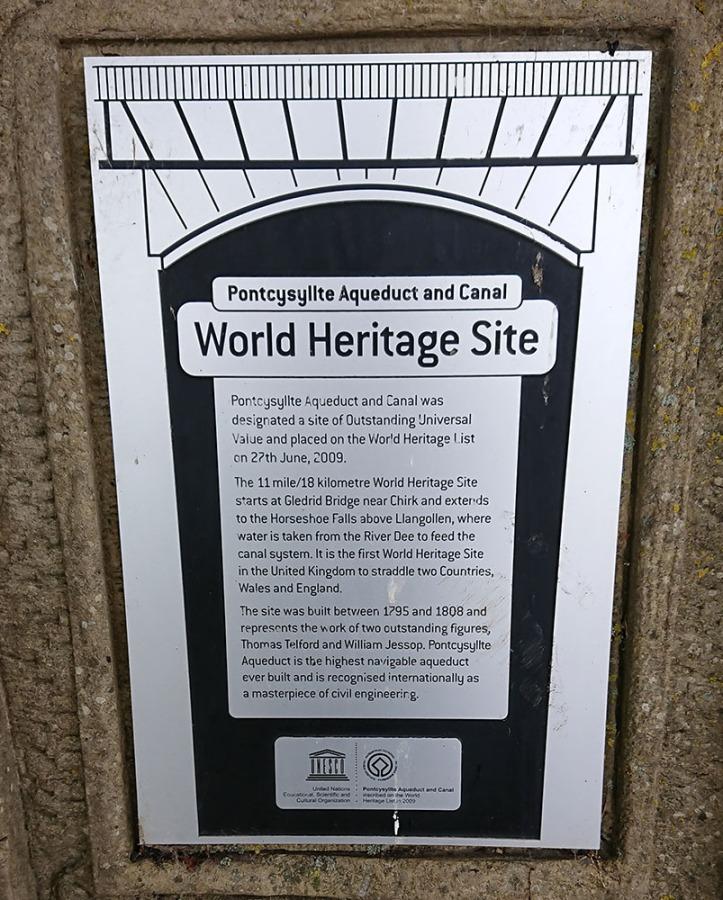 Maes Bont - Aqueduct World Heritage Site