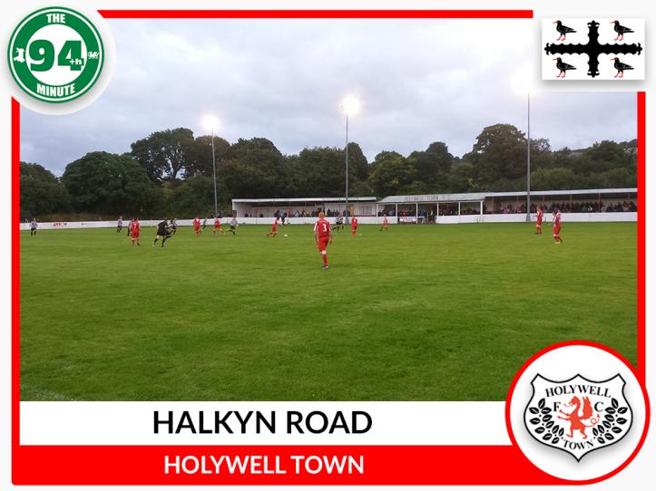 Halkyn Road 2 - Flintshire Flag