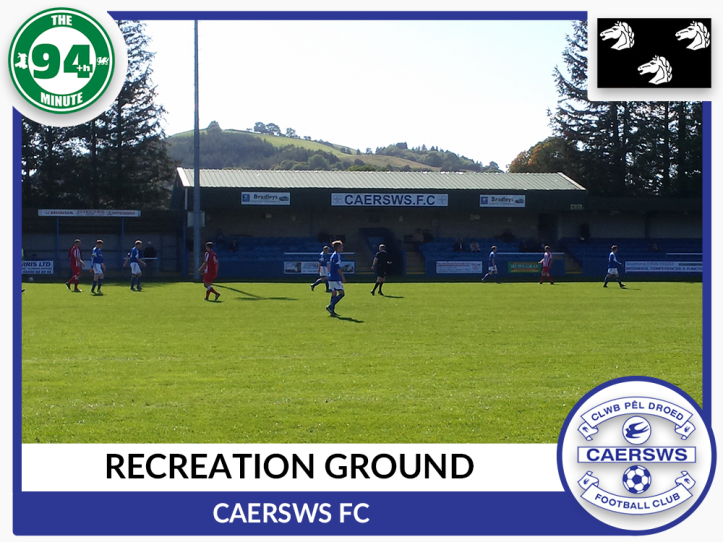 Recreation Ground - Caersws - Montgomeryshire