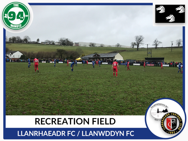 Recreation Ground - Llanrhaeadr - Montgomeryshire