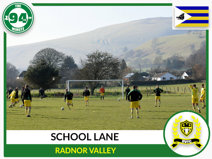 School Lane - Radnor Valley - Radnorshire