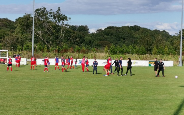 Holywell Ladies vs Nomads Ladies - 8th Sept 19 (FT)
