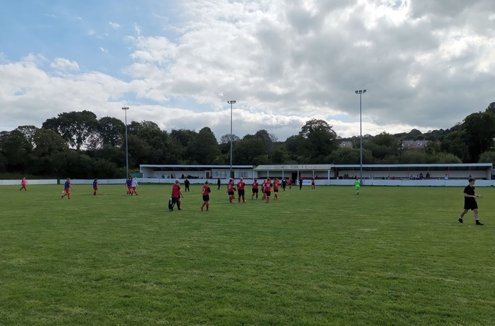 Holywell Ladies vs Nomads Ladies - 8th Sept 19 (HT)