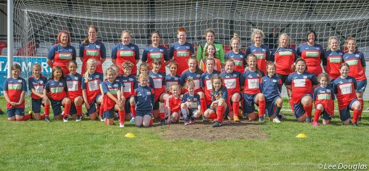 Holywell Town Ladies Team Photo - Lee Douglas