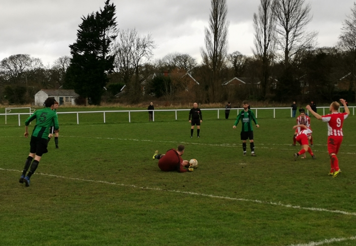 Castell Alun vs Holywell Town - 11th Jan 2020 (39)