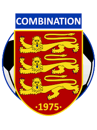 Jersey Football Combination Logo