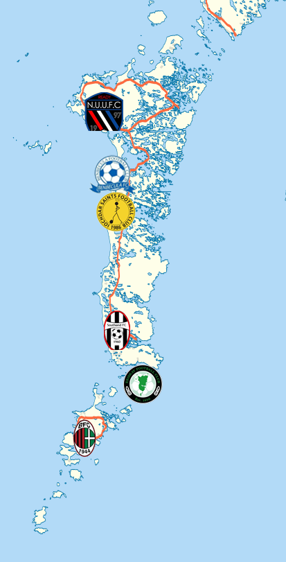 Uist & Barra Football Map