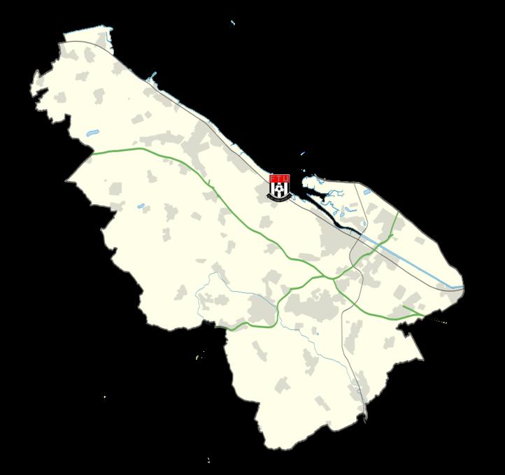 Flintshire Map - Flint Town United