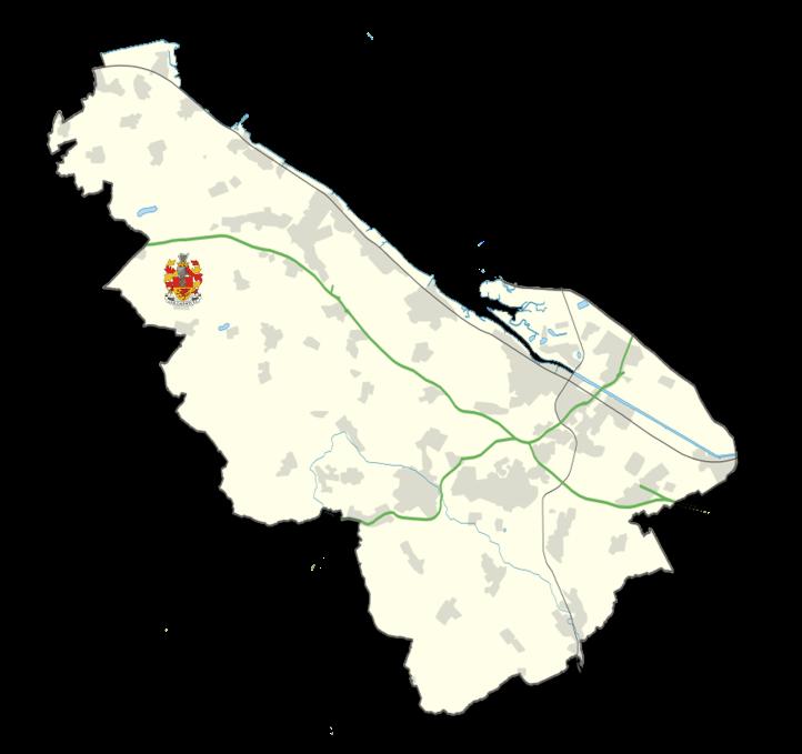 Flintshire Map - Caerwys