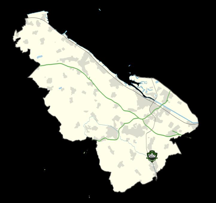Flintshire Map - Castell Alun Colts