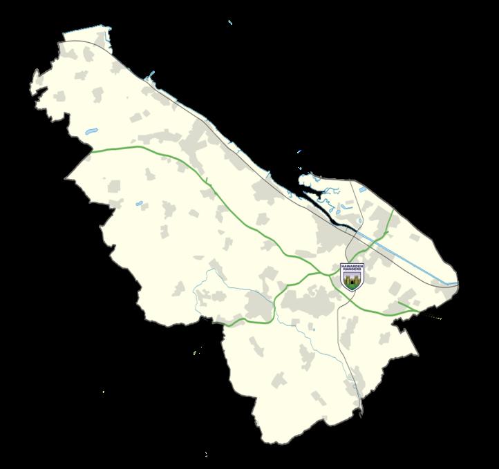 Flintshire Map - Hawarden Rangers