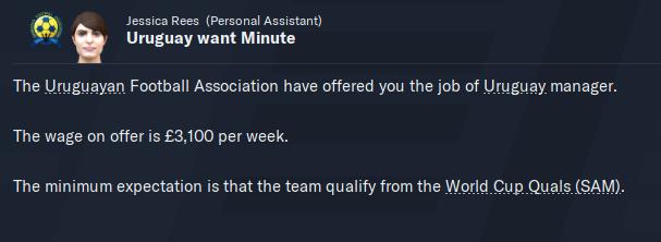 JOB OFFER - Uruguay Job - July 2020